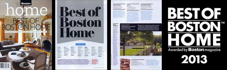 Matthew Cunningham Landscape Design Best of Boston 2013