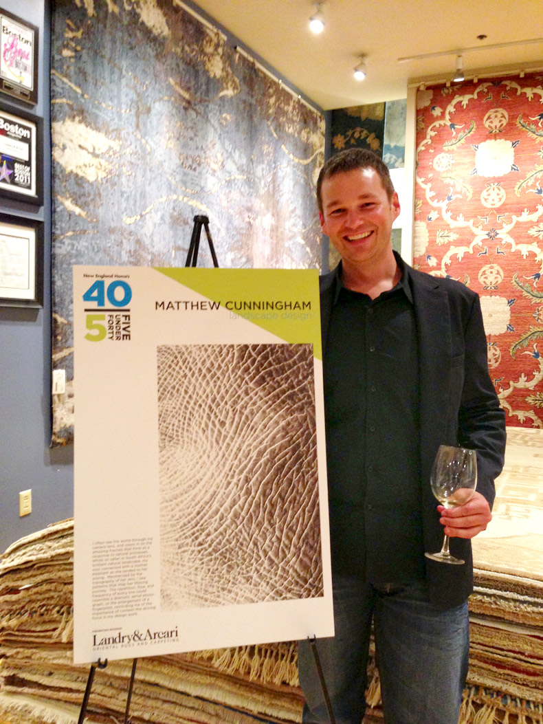 Matthew Cunningham Landscape Design 5Under40