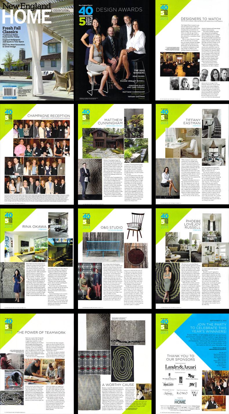 2013 5 Under 40 Magazine Article