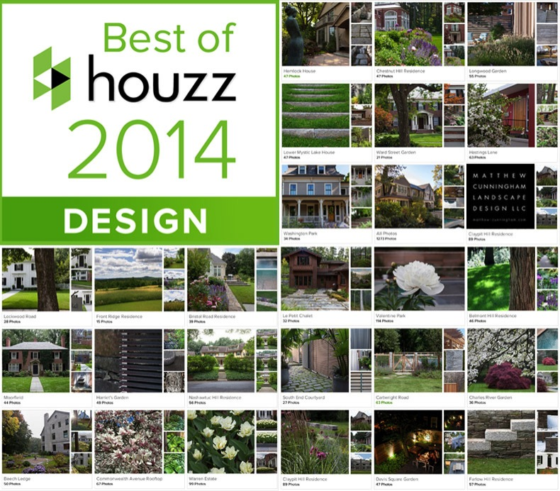 Matthew Cunningham Landscape Design 2014 Best of Houzz