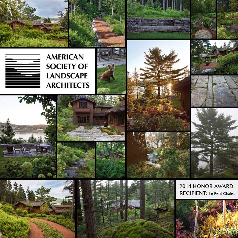 Matthew Cunningham Landscape Design ASLA Award Le Petit Chalet