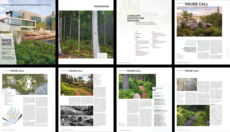Matthew Cunningham Landscape Design ASLA Petit Chalet Home