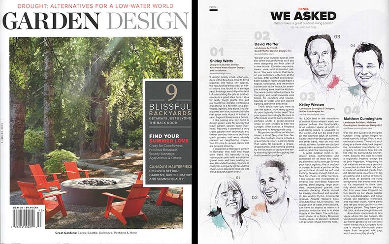 An interview with garden design magazine matthew for Garten design magazin