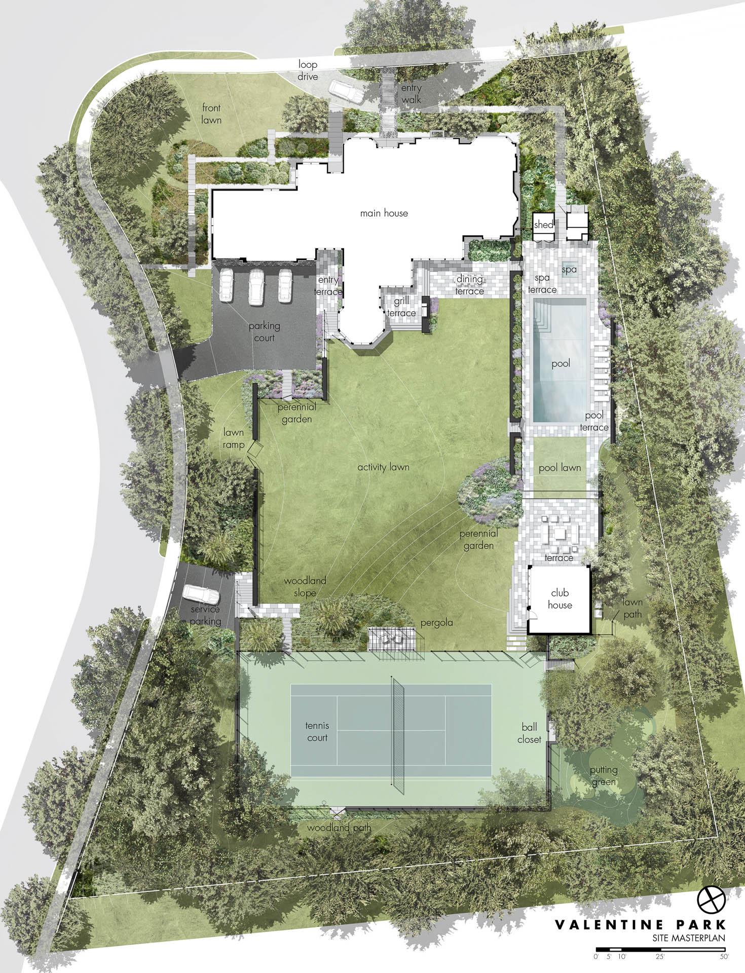 Valentine Park Matthew Cunningham Landscape Design Llc