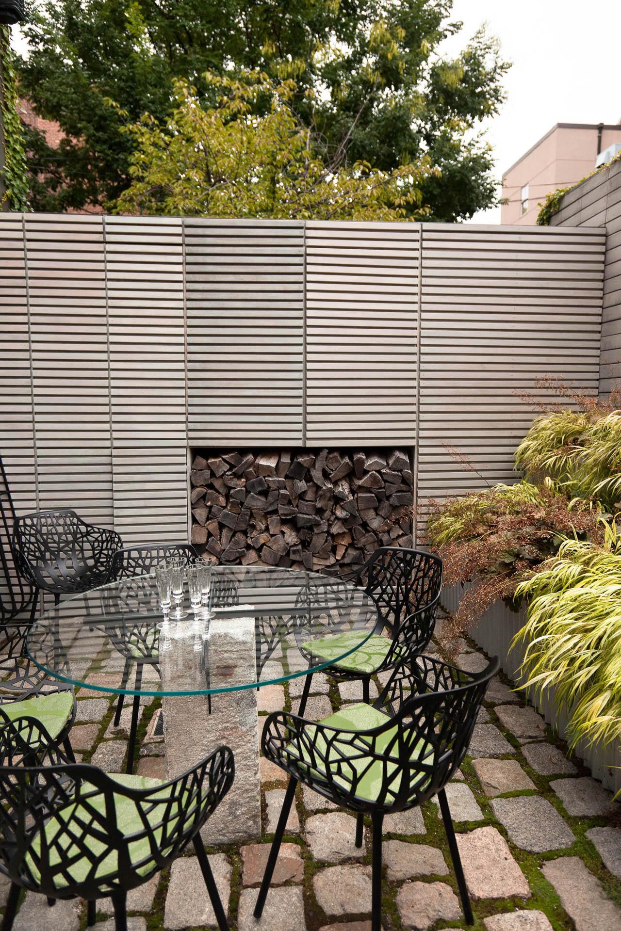 South end courtyard matthew cunningham landscape design llc for Courtyard landscape design