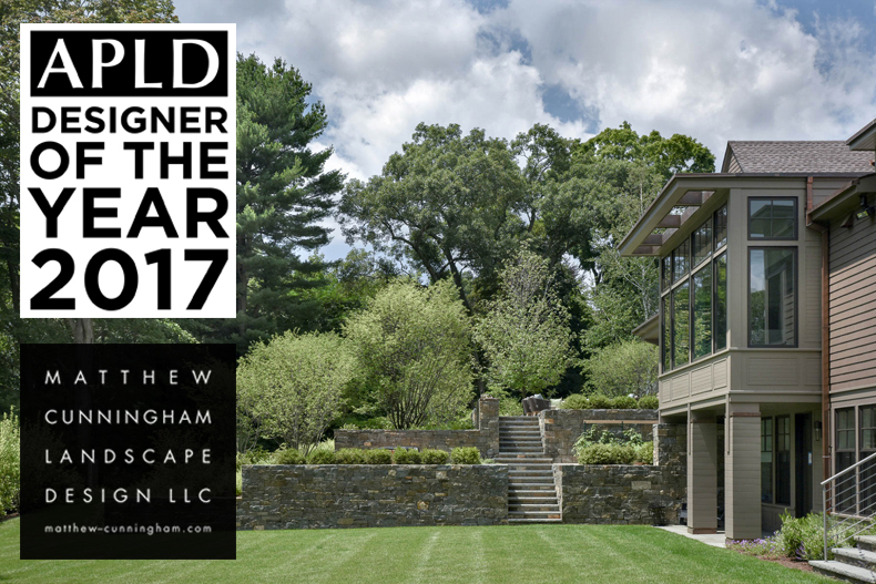 Perfect ... That I Announce Matthew Cunningham Landscape Design Has Been Named The  2017 Designer Of The Year By The Association Of Professional Landscape  Designers!