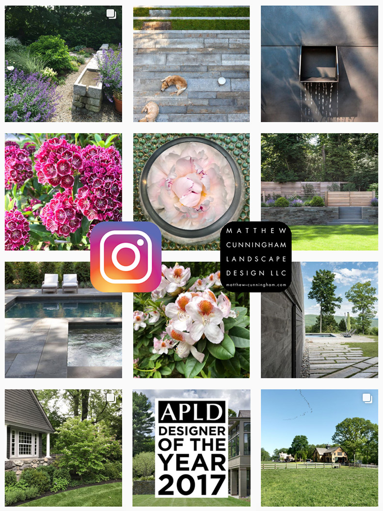 Follow mcld on instagram matthew cunningham landscape for Garden design instagram