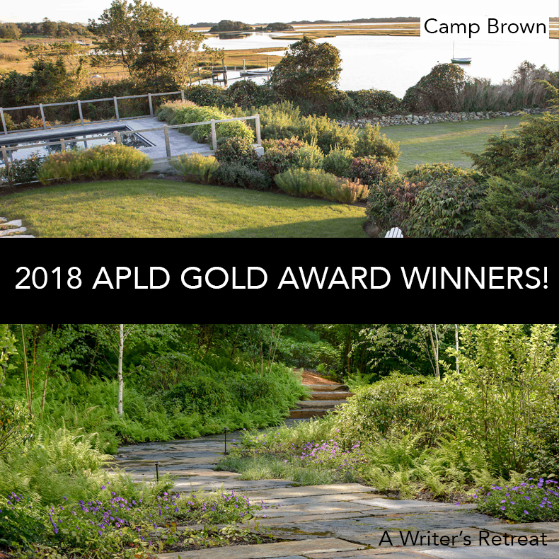 Charming ... That Two Of Our Projects Have Been Selected To Receive Gold Awards In  The The 2018 Association Of Professional Landscape Designeru0027s Awardu0027s  Program!